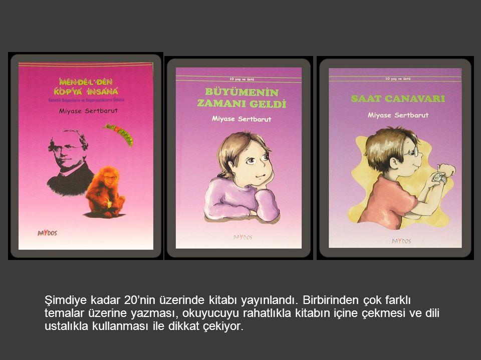 Şimdiye kadar 20'nin üzerinde kitabı yayınlandı. Birbirinden çok farklı temalar üzerine yazması, okuyucuyu rahatlıkla kitabın içine çekmesi ve dili us