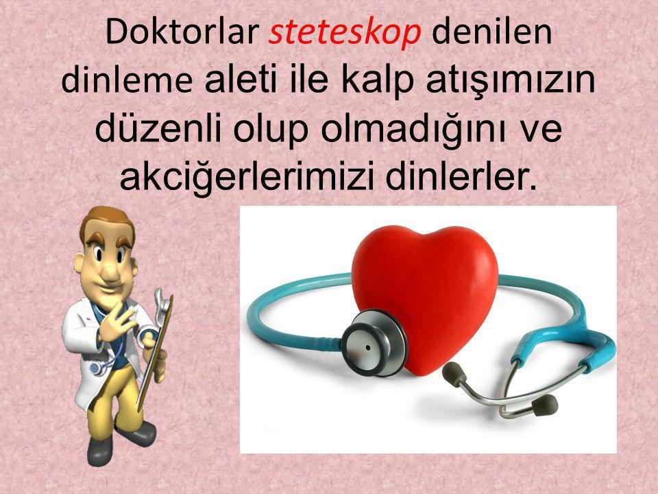 KALBİMİZ NASIL ÇALIŞIR? Kalp her kasılmasında içindeki kanı, basınçla damarlara taşır. Gevşediğinde ise damarlarla taşınan kan kalbin içine dolar. Kal