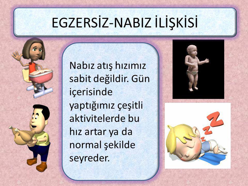 Bebeklerin Nabız Sayısı Yetişkin İnsanlara Göre Neden Daha Fazladır? İnsanlar bebeklik döneminde çok hızlı büyürler, daha çok hareket ederler. Bu nede