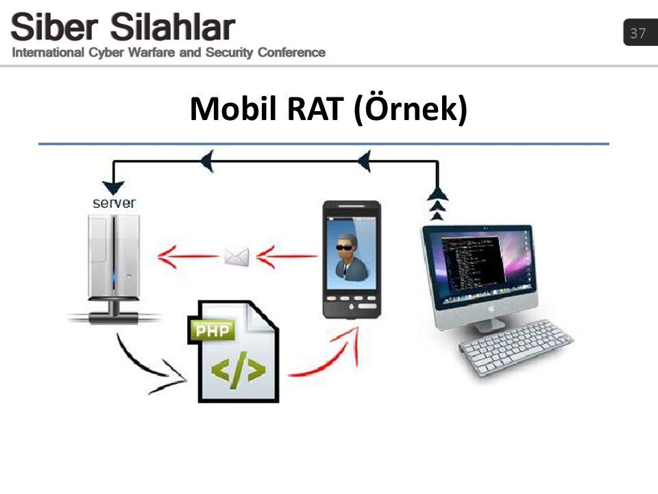 37 Mobil RAT (Örnek)
