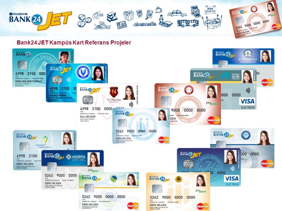 Bank24 JET Kampüs Kart Referans Projeler