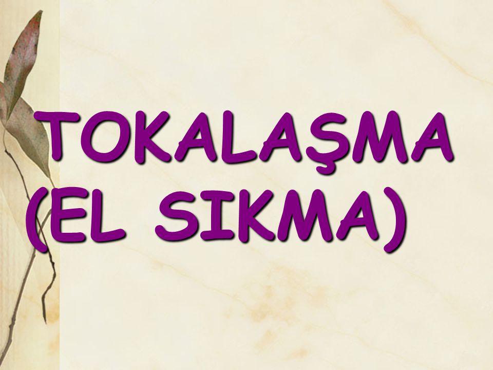 TOKALAŞMA (EL SIKMA) TOKALAŞMA (EL SIKMA)