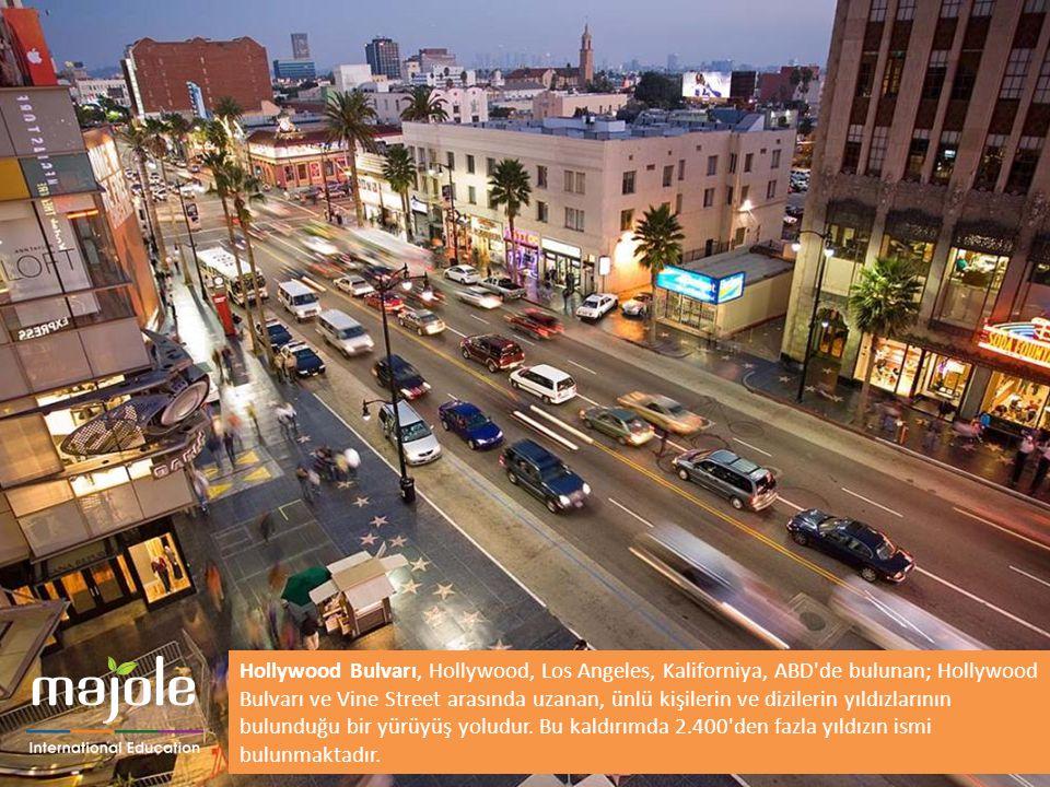 BİRLEŞMİŞ MİLLETLER GENEL MERKEZİNDE EĞİTİM SEMİNERİ Hollywood Bulvarı, Hollywood, Los Angeles, Kaliforniya, ABD'de bulunan; Hollywood Bulvarı ve Vine