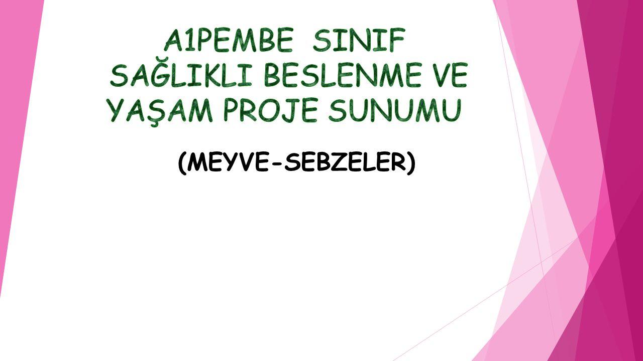 (MEYVE-SEBZELER)