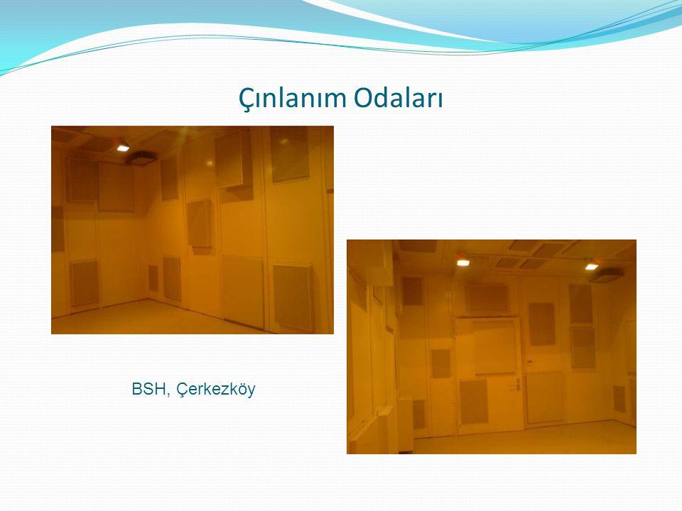 Çınlanım Odaları BSH, Çerkezköy