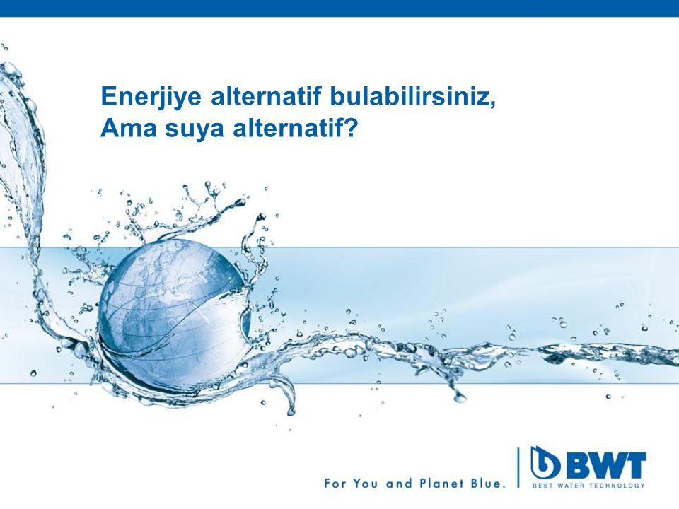 3 Enerjiye alternatif bulabilirsiniz, Ama suya alternatif?
