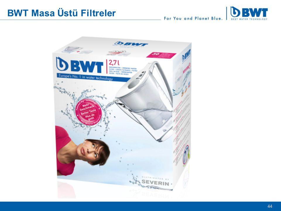 44 BWT Masa Üstü Filtreler 44