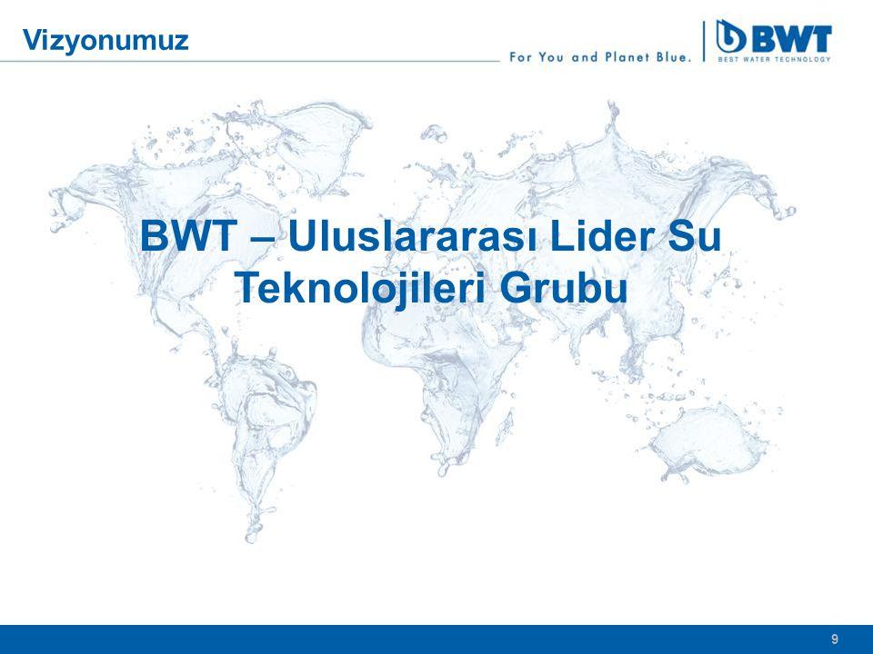 9 9 BWT – Uluslararası Lider Su Teknolojileri Grubu Vizyonumuz