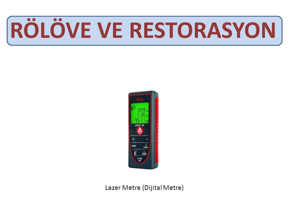 RÖLÖVE VE RESTORASYON Lazer Metre (Dijital Metre)