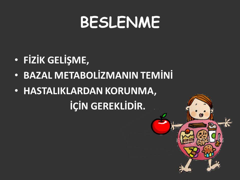 BESLENMEDE NELERE DİKKAT ETMELİYİZ.