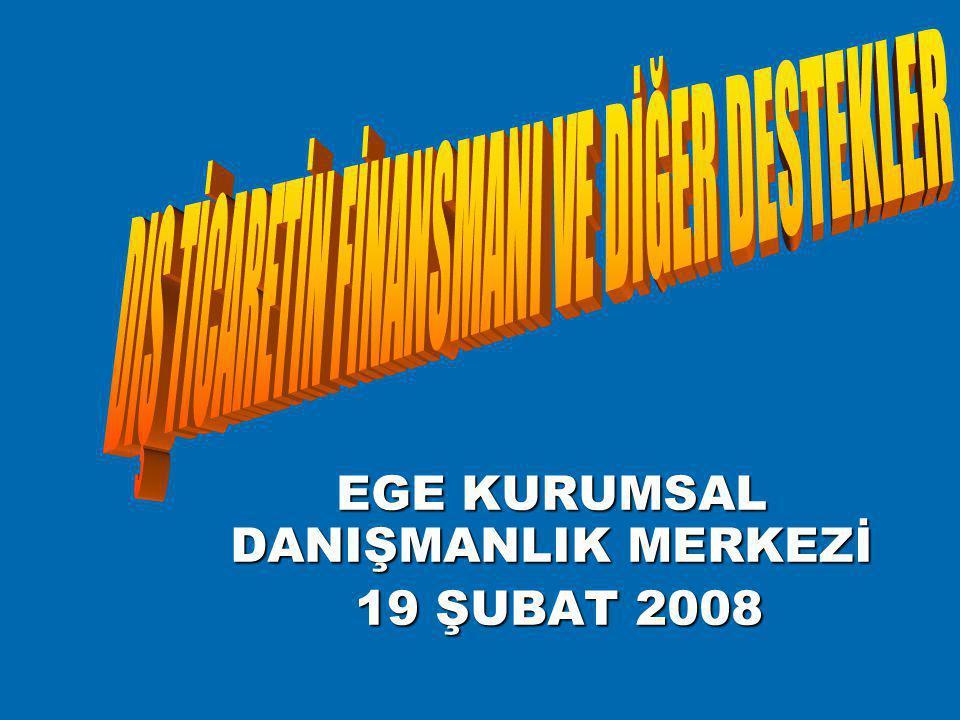 EGE KURUMSAL DANIŞMANLIK MERKEZİ 19 ŞUBAT 2008 19 ŞUBAT 2008