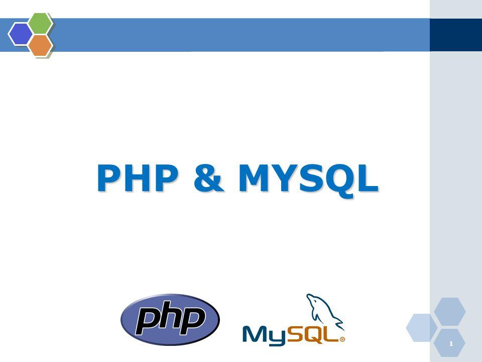 PHP & MYSQL 1