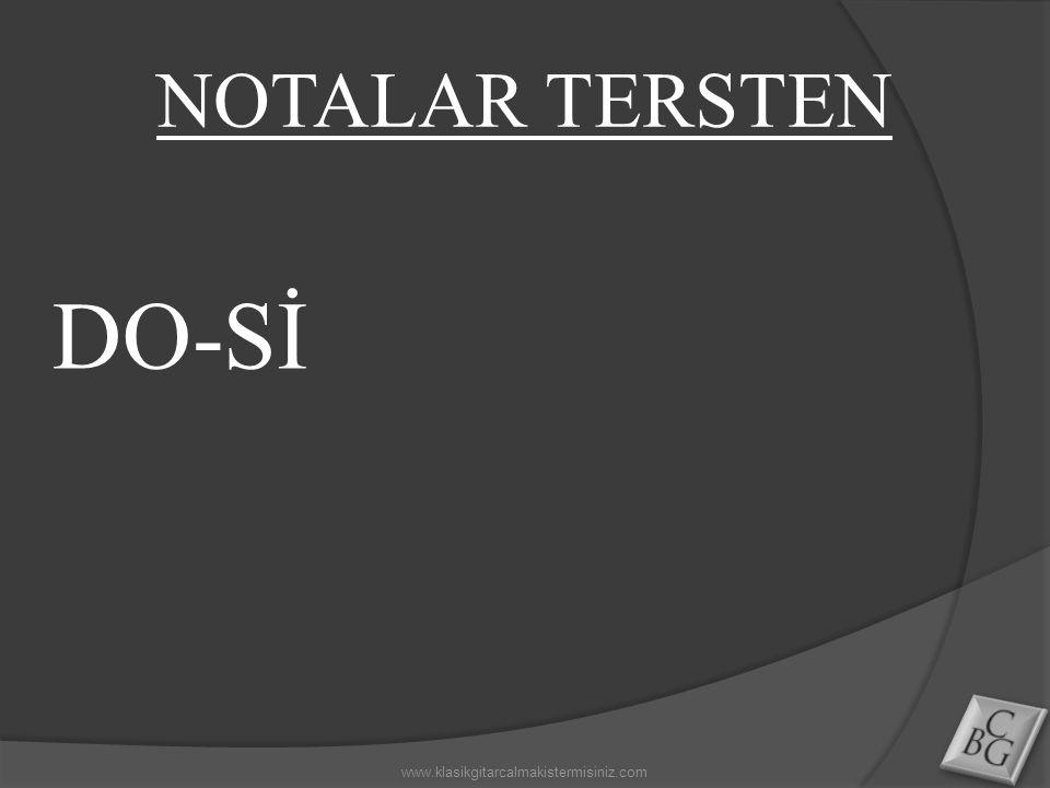 DO-Sİ www.klasikgitarcalmakistermisiniz.com