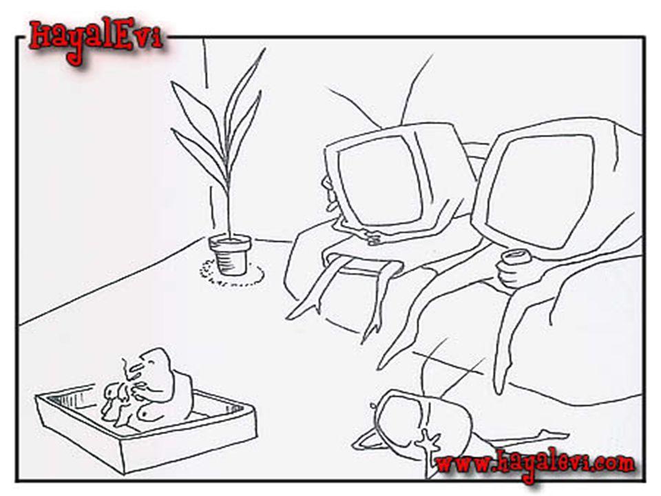 Televizyonsuz bir hayat geçer mi.