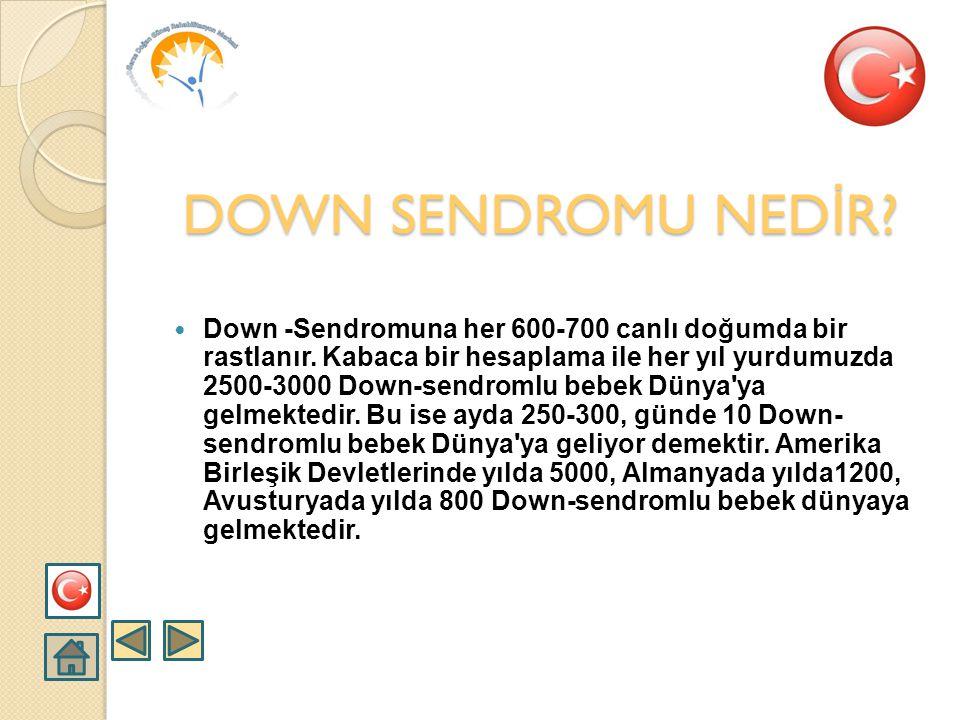  Down-sendromu en fazla görülen kromozom anomalisidir. İnsan vücudu oldukça fazla sayıda hücrelerden meydana gelmiştir. Her bir hücre içinde genetik