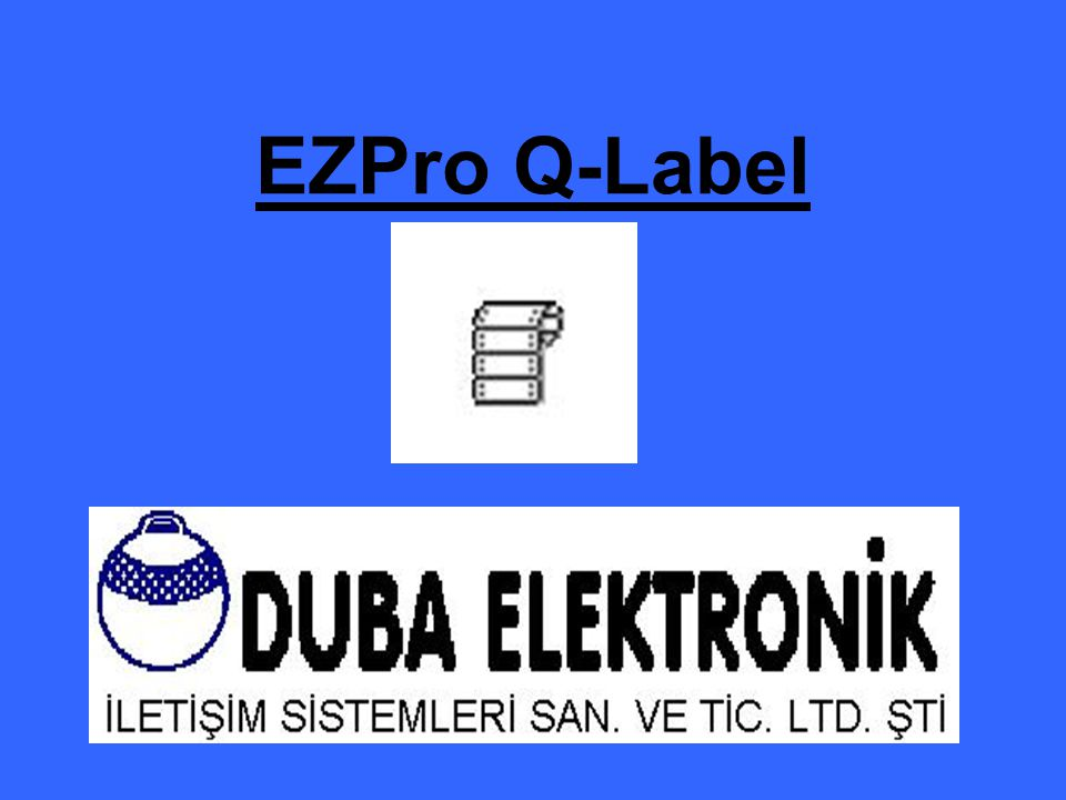 EZPro Q-Label