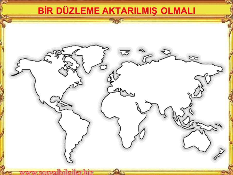 Büyük Ölçekli Haritalar Ölçeğinin paydası 200.000 den küçük olan haritalardır.