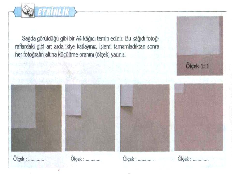 A) 1:100 000 B) 1:600 000 C) 1:800 000 D) 1:10 000 000 Öğretmeni Ayşe'ye, Türkiye'nin yer şekilleri ile ilgili araştırma ödevi verip, belirlediği dağ ve akarsu isimlerini listelemesini istemiştir.
