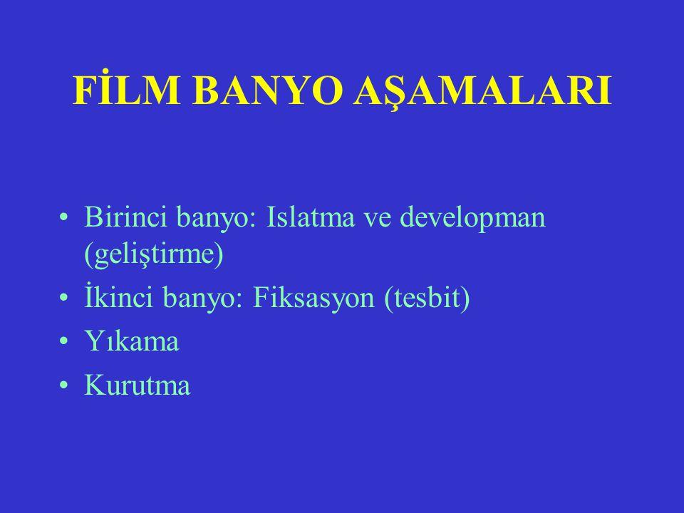 RADYOGRAFİ BANYO TEKNİĞİ KARANLIK ODA TEKNİĞİ Dr. Mehmet Atalar CÜTF RADYOLOJİ AD-SİVAS