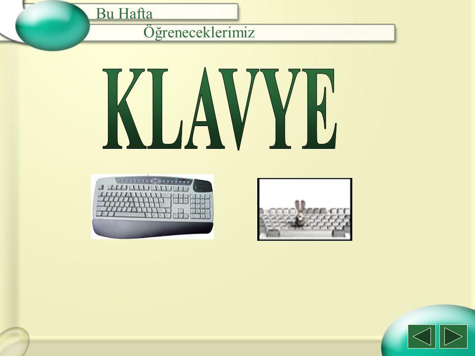 c) Scroll Lock Scroll Lock Tuşu: İmlecin bulunduğu yeri değiştirmeden ekranın hareketini sağlar.