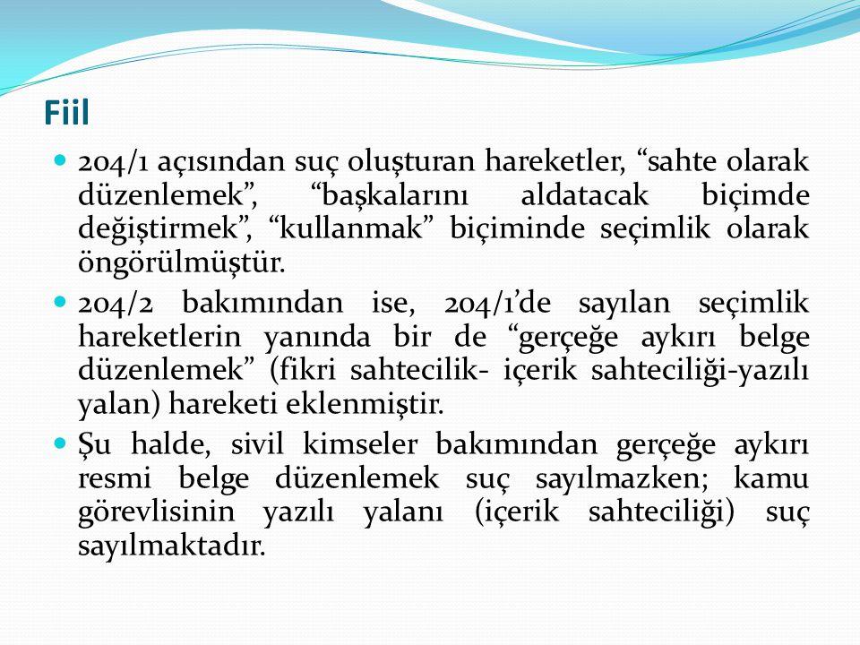 Ahlaka Aykırı Belgelerde Sahtecilik  818 Sayılı Borçlar Kanunu'nun 20.