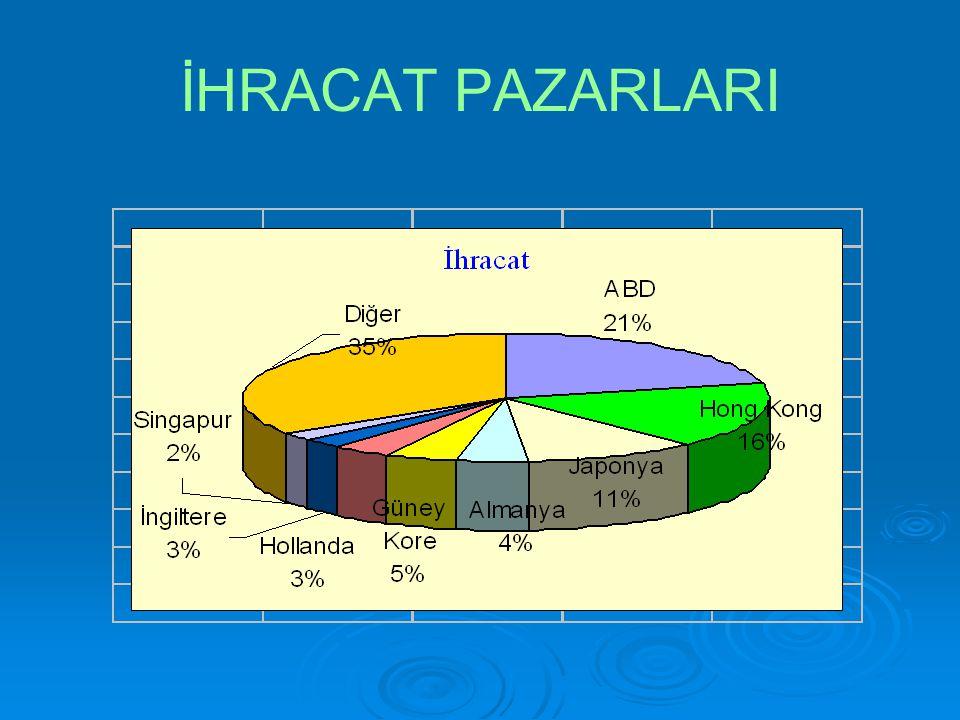 İHRACAT PAZARLARI