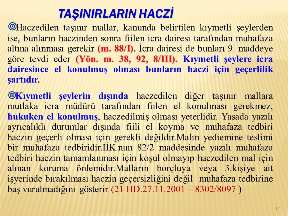 (m.88/I). (Yön. m. 38, 92, 8/III)..