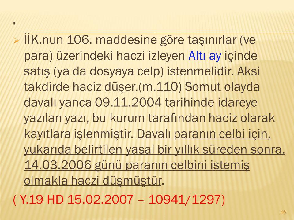  İİK.nun 106.