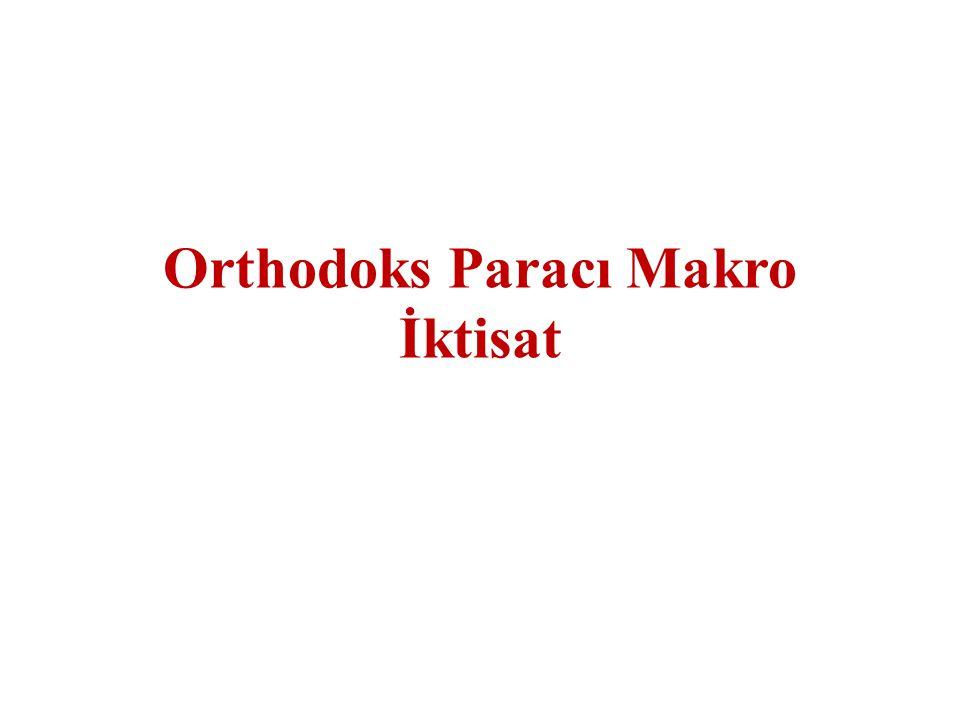 Orthodoks Paracı Makro İktisat