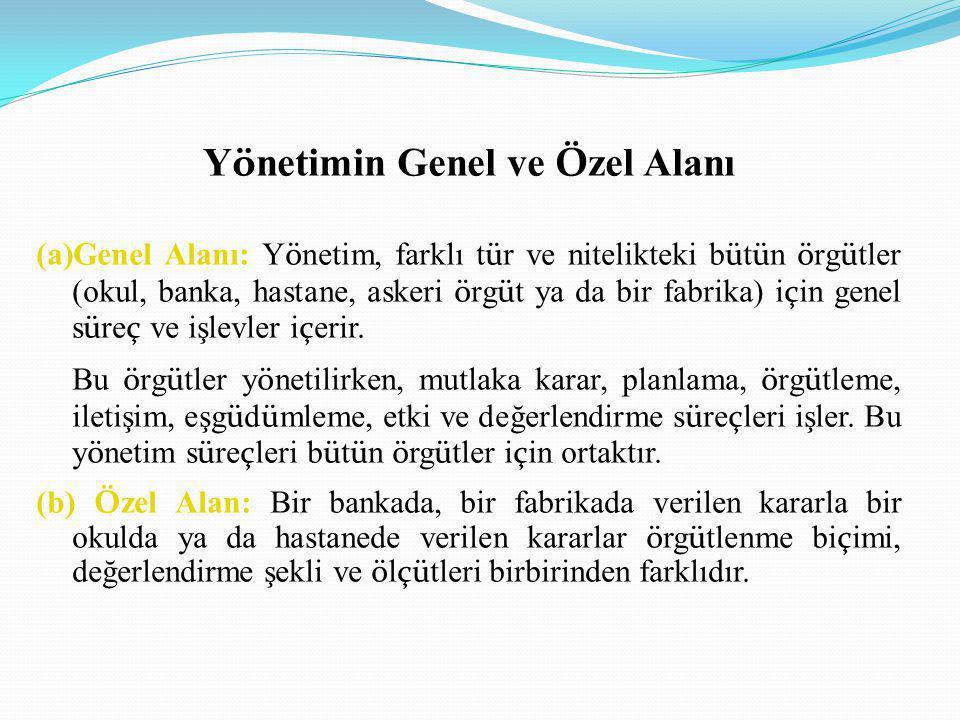 Vizyon kavramının yönetim literatürüne 1990'lı yıllarla birlikte girdiği bilinmektedir (Aydıner, 2002; Akdemir, 2005).