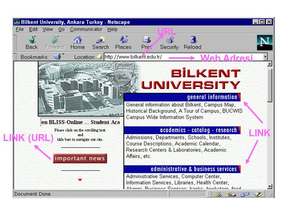 URL Web Adresi LINK (URL) LINK