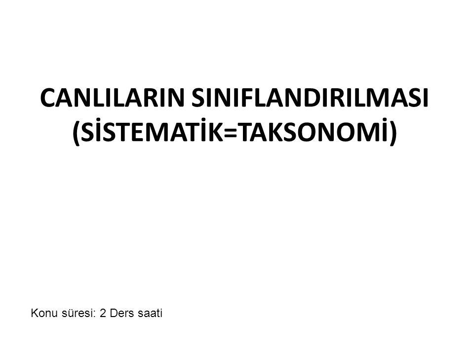 Hedefler • Aristo ve Linnaeus 'un sınıflandırmasını kavramak ve karşılaştırmak.