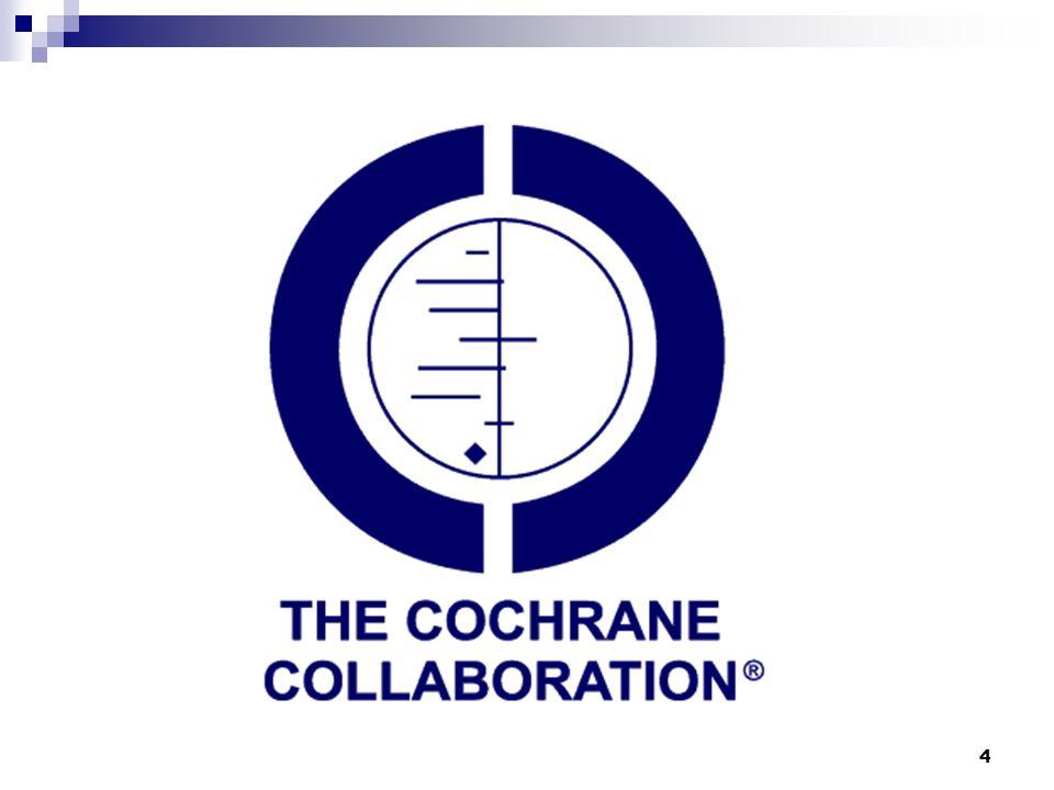 15 Cochrane Alanları  Cancer  Child Health  Complementary medicine  Health care of older people  Health promotion and public health  Neurology  Primary Health Care  Rehabilitation and related therapies  Vaccines Toplam 9 Uzmanlık Alanı vardır.