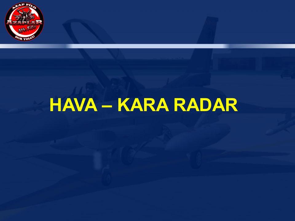 HAVA – KARA RADAR