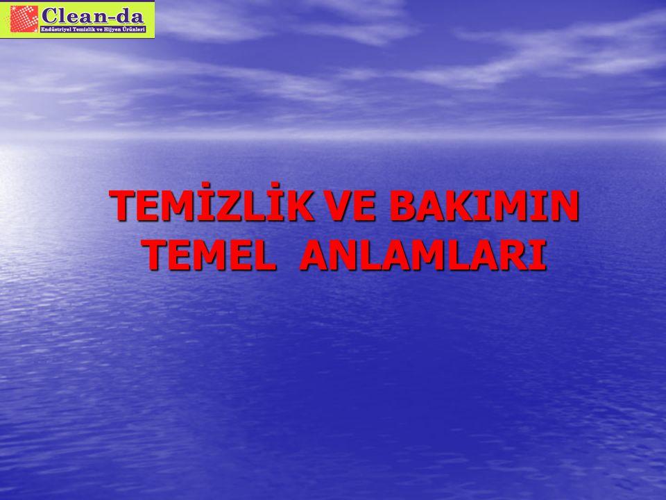 ÜLKEMİZDE TEMİZLİK TÜKETİMİ!.