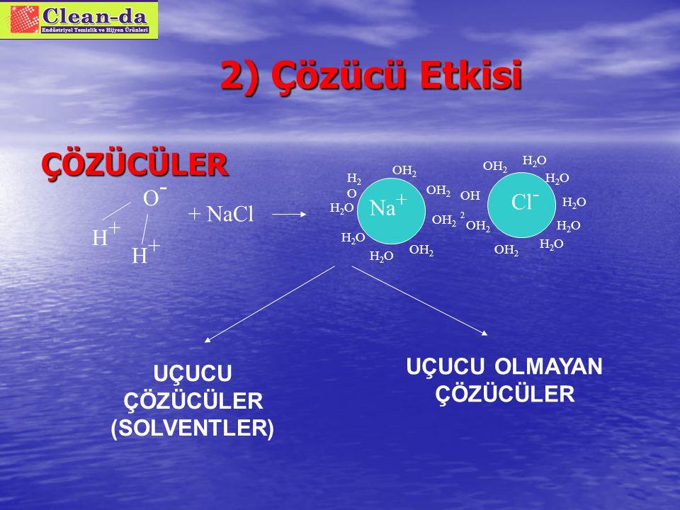 Yüzey aktif maddelerin sınıflandırılması 1.Anyonik Yüzey Aktifler 2.