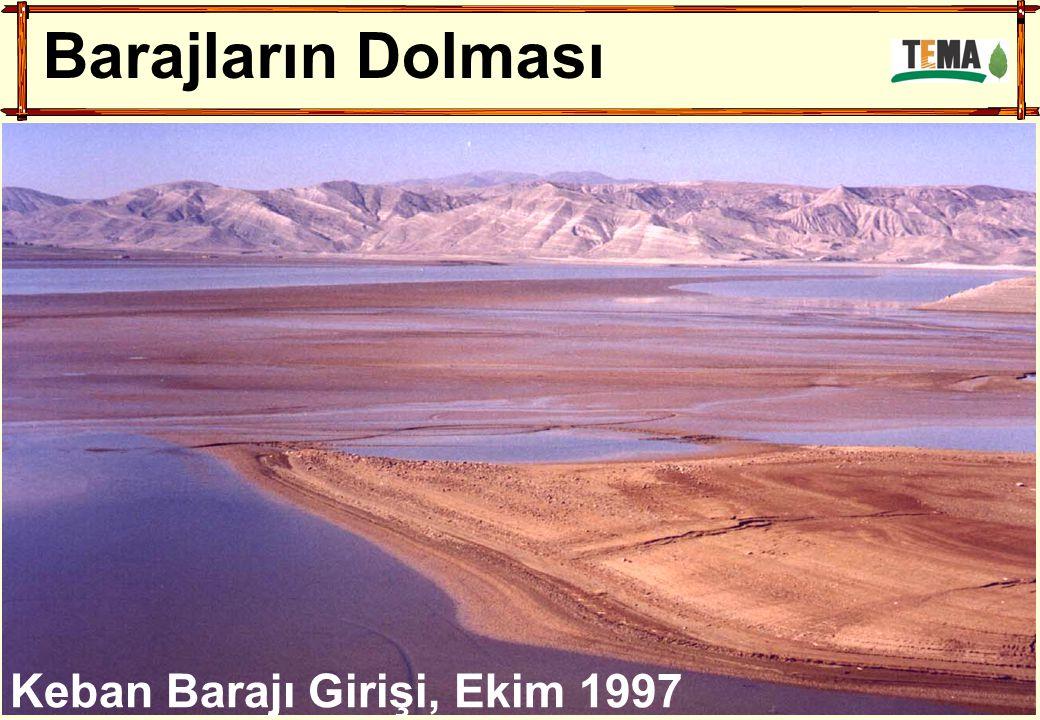 Barajların Dolması Keban Barajı Girişi, Ekim 1997