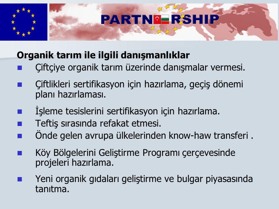   Partnerlerimiz Denetim ve sertifikasyon ajansı Nadir yerli cinsler derneği Plovdiv tarım üniversitesi Ekofarm derneği