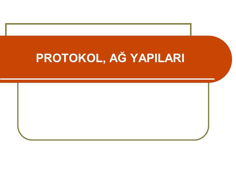 PROTOKOL, AĞ YAPILARI