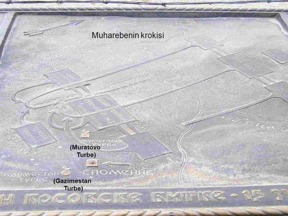 Muharebenin krokisi (Muratovo Turbe) (Gazimestan Turbe)