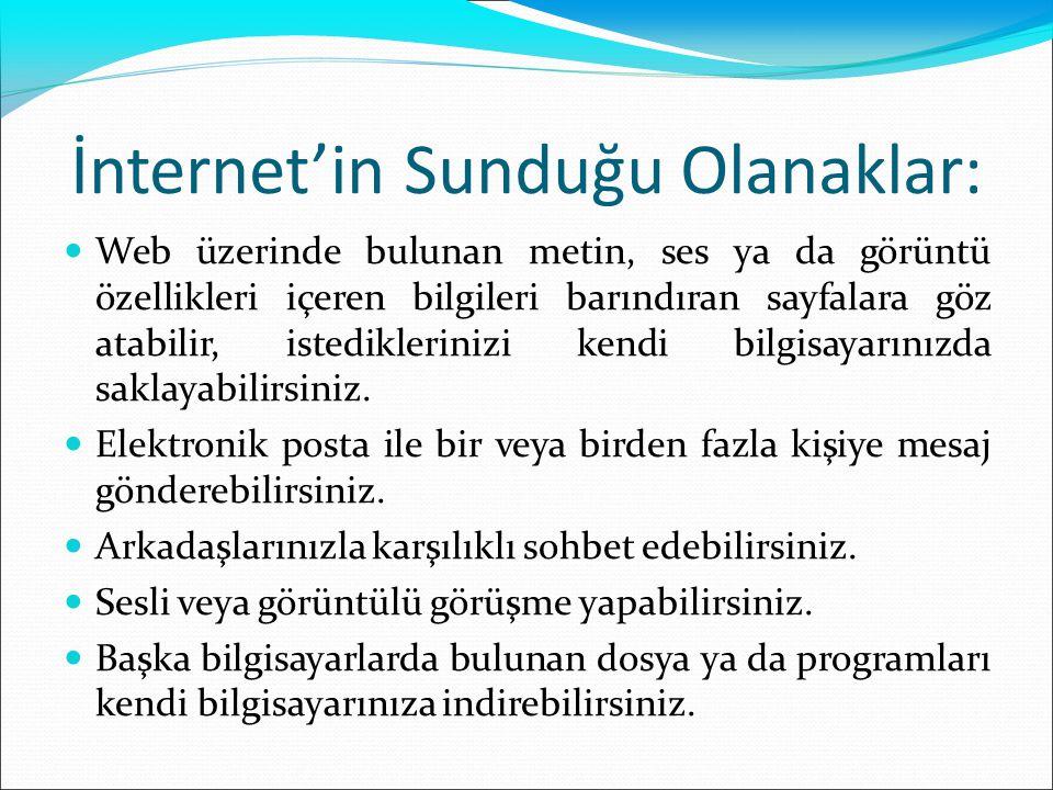 Telnet Bir telnet oturumu örneği: