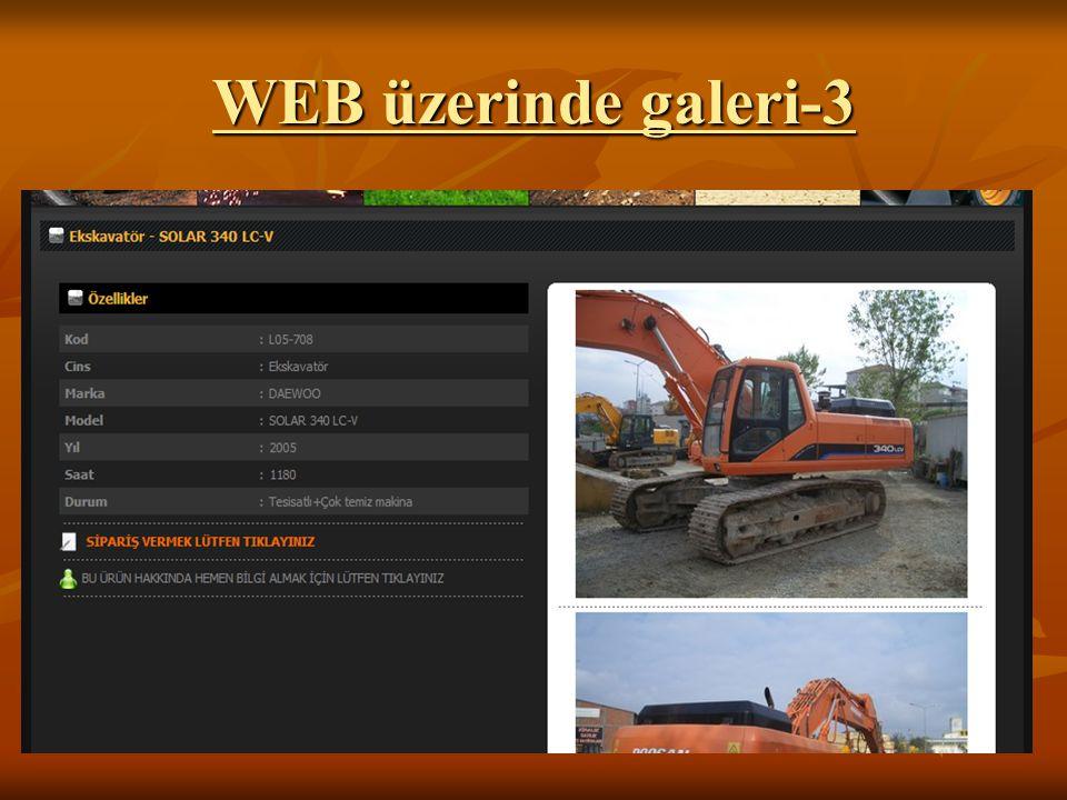 WEB üzerinde galeri-3