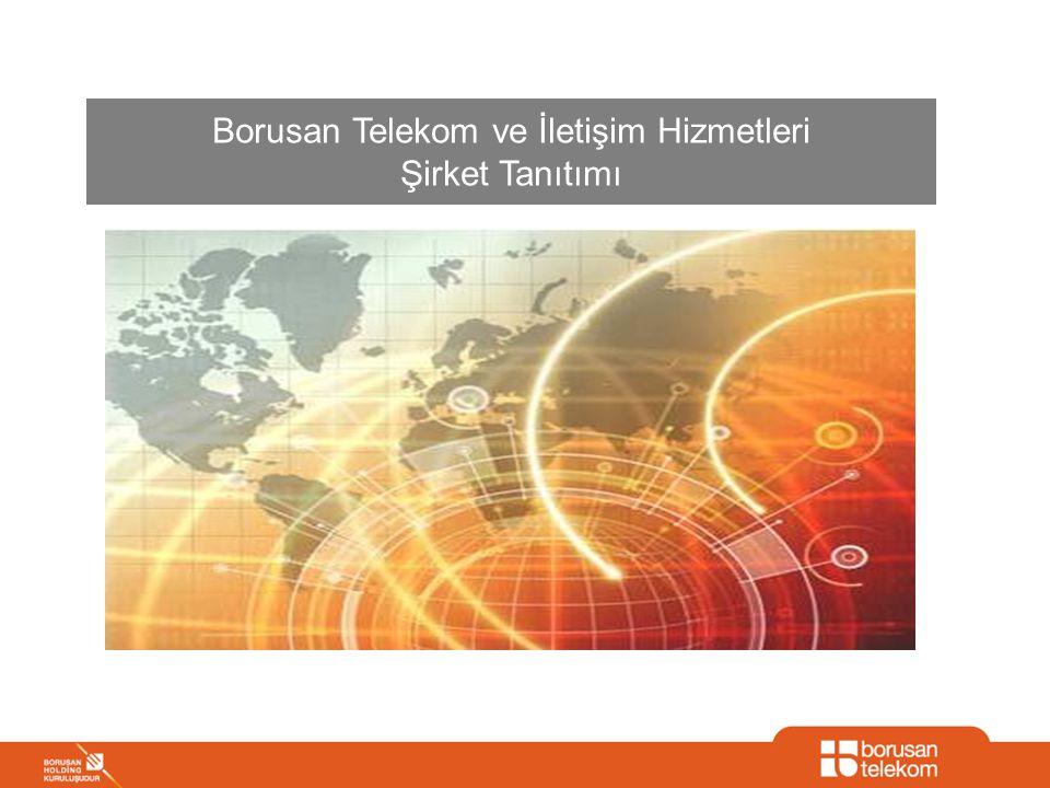 2/31 BORUSAN TELEKOM, 1996'DAN BERİ SEKTÖRDE AKTİF VE BİR ÇOK İLKE İMZA ATMIŞ OLAN BİR ALTERNATİF OPERATÖRDÜR Borusan Telekom, Altyapı İşletmeciliği lisansı aldı Capital 500 listesindeki firmaların 167'si Borusan Telekom'u tercih etti Borusan Telekom toptan satışta 1 numaralı alternatif operatör oldu 1996 2000 2002 2003 2004 2007 B-net kuruldu B-net, Comnet'i satın aldı Borusan Telekom, A Tipi Lisans alarak ses hizmetleri sunmaya başladı B-net, Borusan Telekom adını aldı Borusan Teknoloji ve Bnet birleşti B-net Equant'ın yerel omurgasını satın aldı Global operatörlerle stratejik iş ortaklıkları kuruldu 2005 2006 AloDSL lansmanı yapıldı AloPratik lansmanı yapıldı Bnet Türkiye'nin ilk özel ATM omurgasını kurdu Borusan Telekom YAPA ve VAE sözleşmelerini imzaladı 2008 Borusan Telekom fiber altyapı çalışmalarına başladı