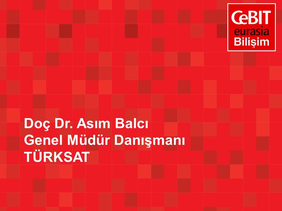 Doç Dr. Asım Balcı Genel Müdür Danışmanı TÜRKSAT