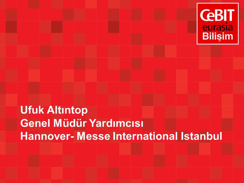 Ufuk Altıntop Genel Müdür Yardımcısı Hannover- Messe International Istanbul