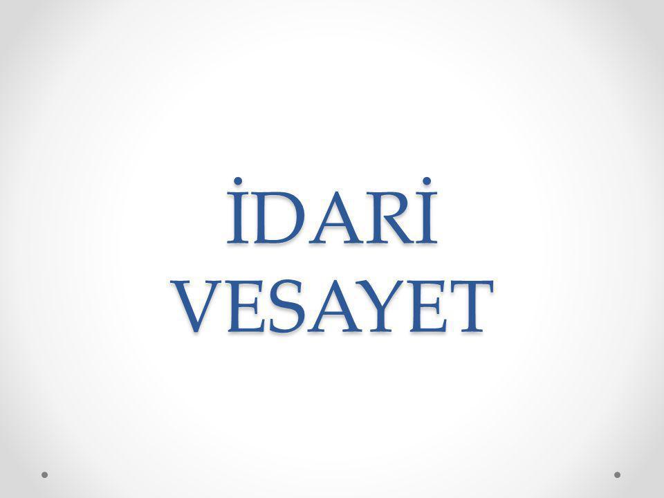 3152 sayılı İçişleri Bakanlığı Teşkilat ve Görevleri Hakkında Kanun: Madde 1.