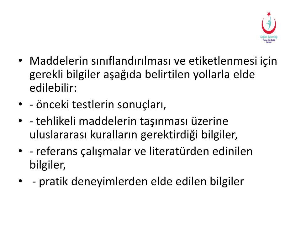 Toksik • Toksik • T • R23 • R24 • R25 • R39 • R45 • R46 • R48 • R49 • R60 • R61 Biyosidal Ürün Etiketleri - Çevre Mühendisi Selim ATAK Mesul Müdür Eğitimi - 25-30 Mart 2013 - Ankara 26