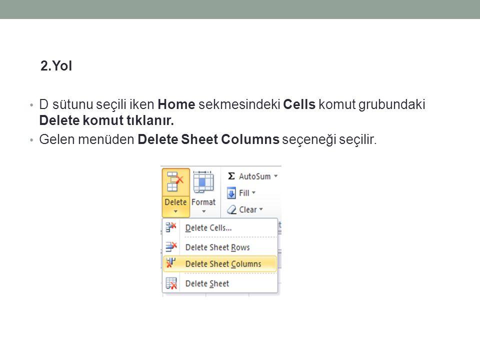 14- Yeni Çalışma Sayfası Oluşturmak için; • Office Button tıklanır ve gelen menüden New seçeneği seçilir.