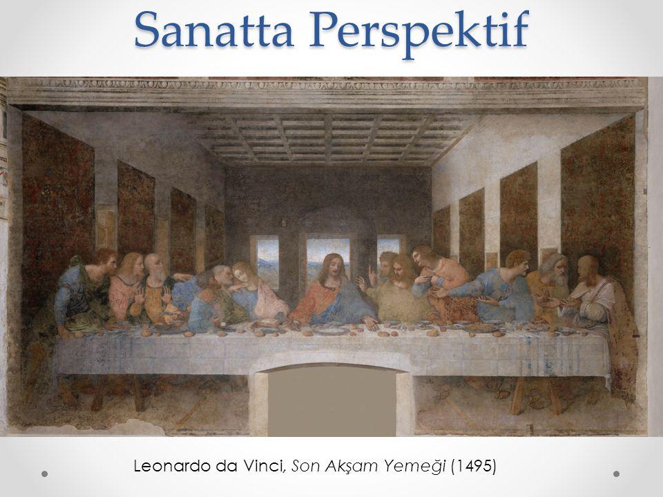 Sanatta Perspektif Leonardo da Vinci, Son Akşam Yemeği (1495)