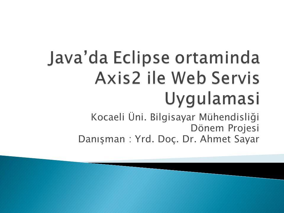 Amaç : Aynı networkte bulunan 2 bilgisayardan birini Server, diğerini Client olarak kullanarak; web servisi yayınlamak.